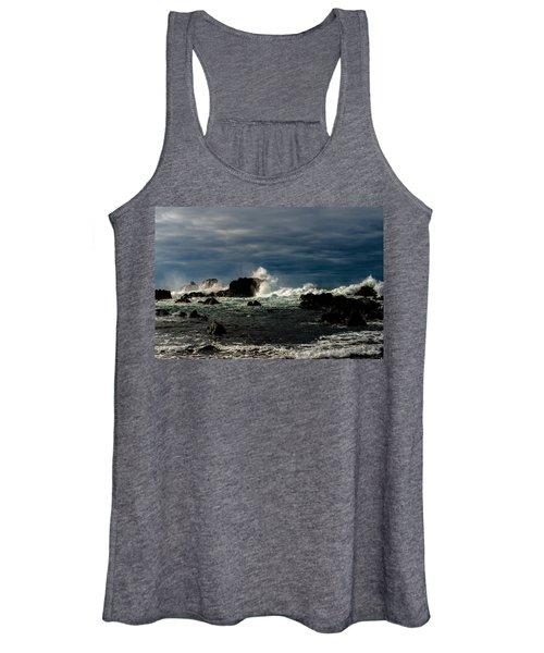 Stormy Seas And Skies  Women's Tank Top