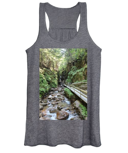 The Flume Gorge   Women's Tank Top
