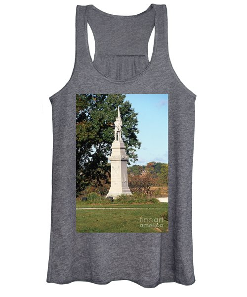 30u13 Hood Park Monument To Civil War Soldiers And Sailors Photo Women's Tank Top