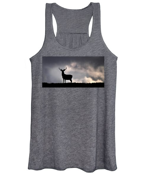 Stag Silhouette Women's Tank Top