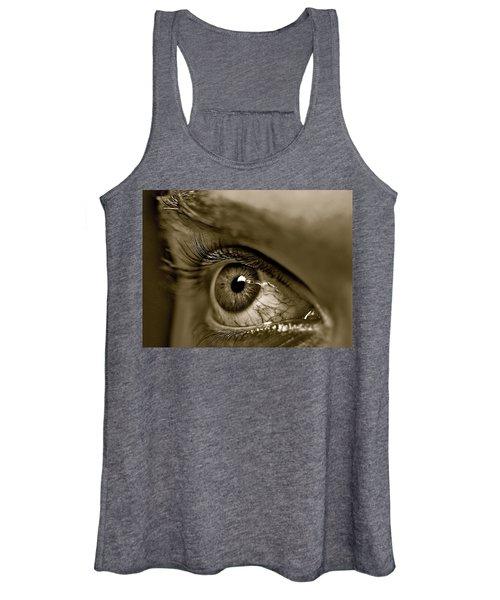 Window To The Soul - Eye Women's Tank Top