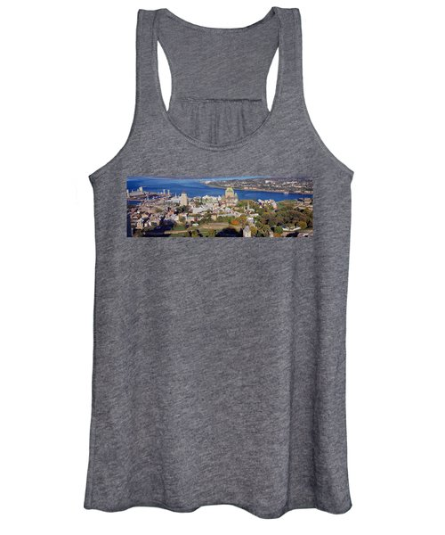 High Angle View Of Buildings In A City Women's Tank Top