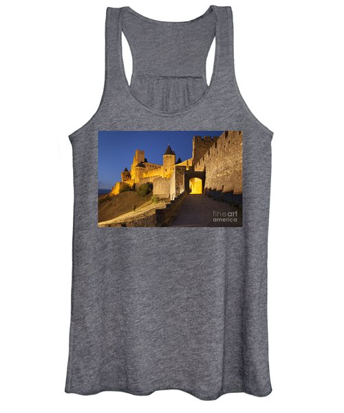 Medieval Carcassonne Women's Tank Top