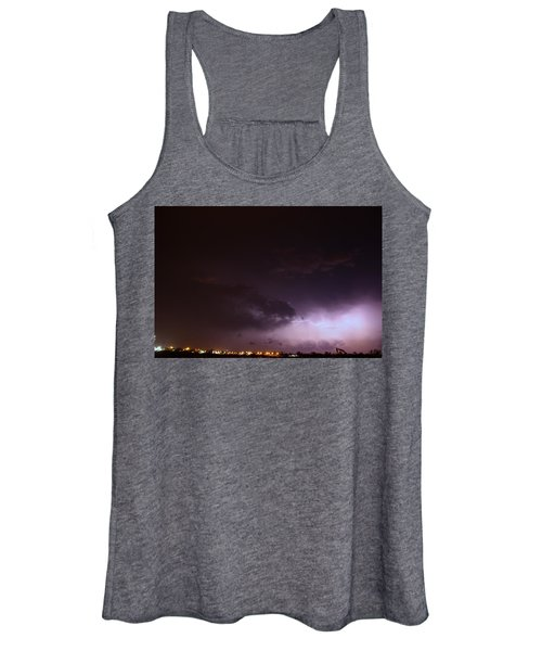 Our 1st Severe Thunderstorms In South Central Nebraska Women's Tank Top