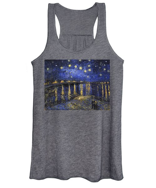 Starry Night Over The Rhone Women's Tank Top
