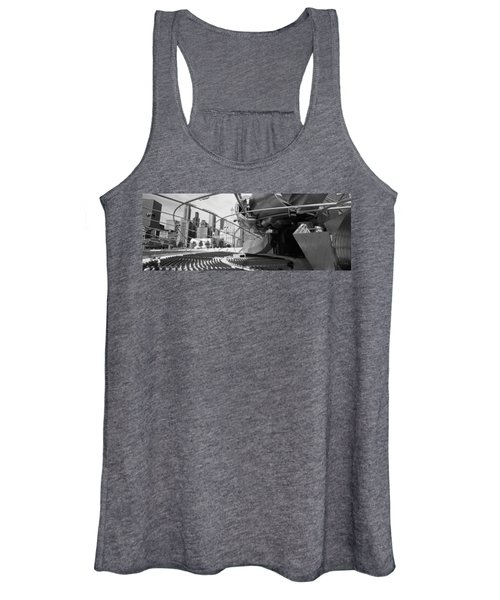 Low Angle View Of Buildings In A City Women's Tank Top