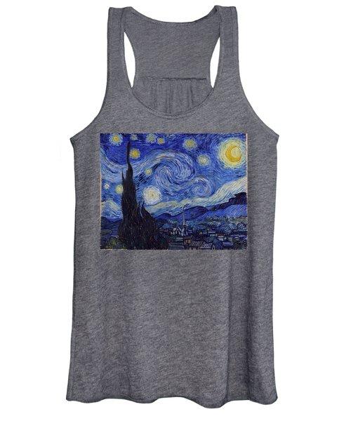 Starry Night Women's Tank Top