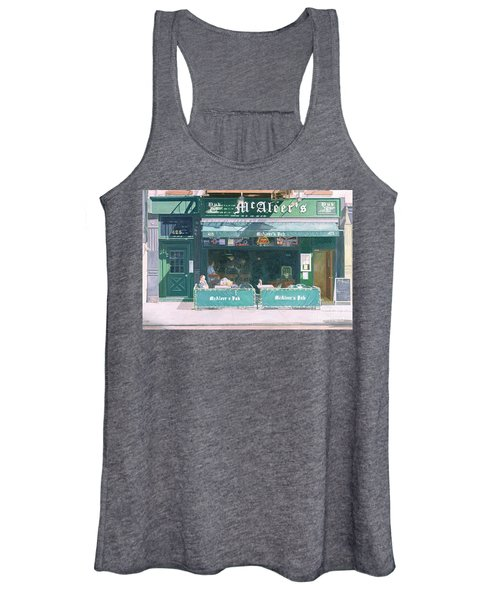 80th And Amsterdam Avenue Women's Tank Top