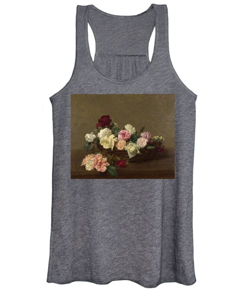 A Basket Of Roses Women's Tank Top