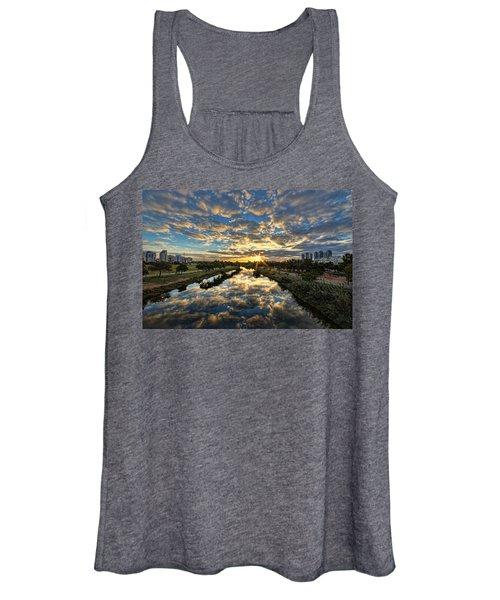 A Magical Marshmallow Sunrise  Women's Tank Top