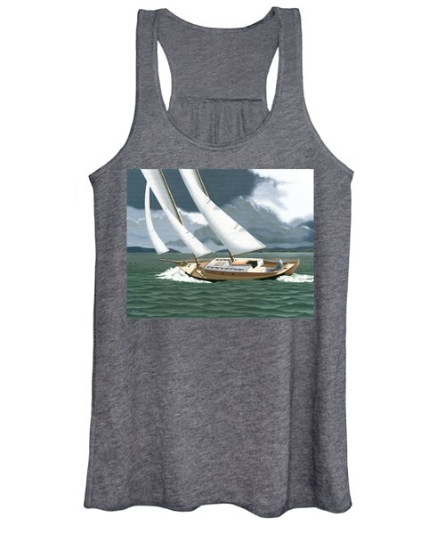 A Passing Squall Women's Tank Top