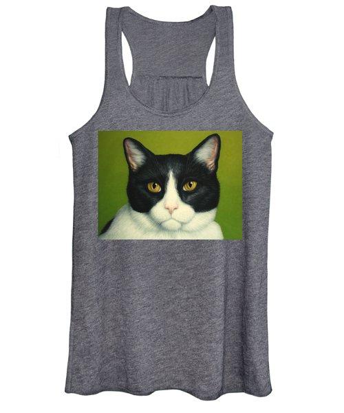 A Serious Cat Women's Tank Top