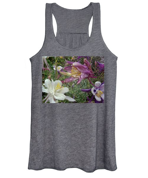 a taste of dew i do and PCC  garden too     GARDEN IN SPRING MAJOR Women's Tank Top