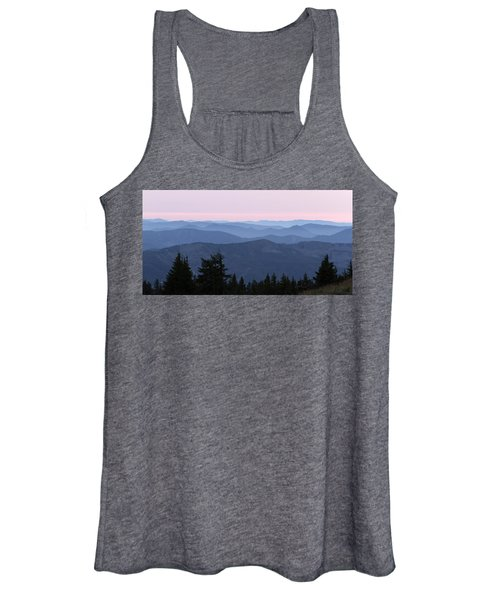 A View From Timberline Women's Tank Top