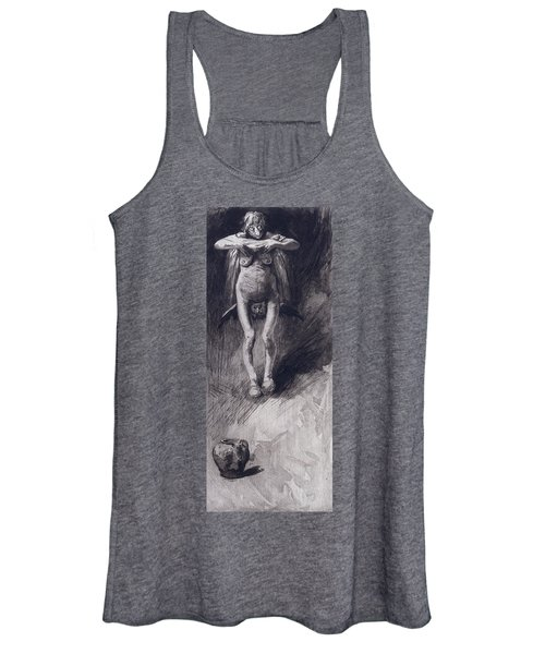 A Witch Representing Night Women's Tank Top