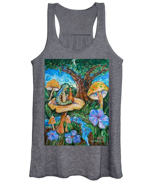 Absolem From Wonderland Women's Tank Top
