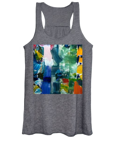 Abstract Color Relationships Lll Women's Tank Top