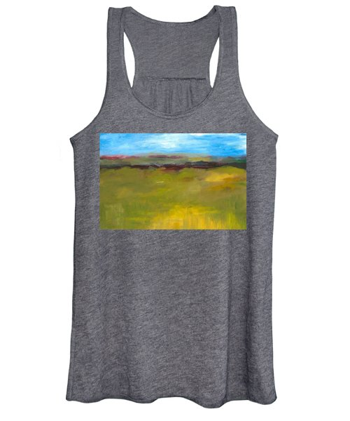 Abstract Landscape - The Highway Series Women's Tank Top