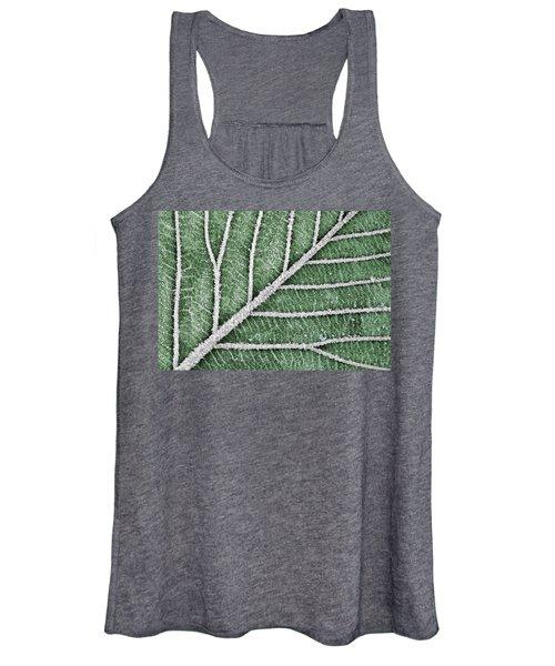 Abstract Leaf Art Women's Tank Top