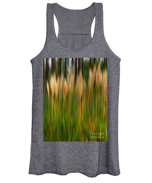 Abstract Of Movement Women's Tank Top