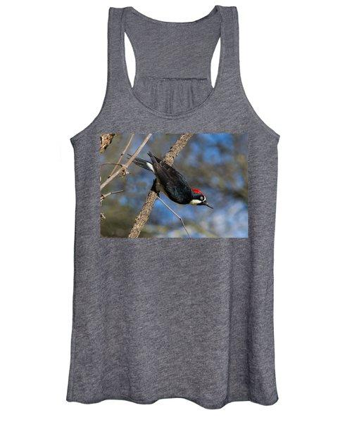 Acorn Woodpecker Women's Tank Top
