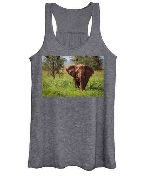 African Desert Elephant Women's Tank Top