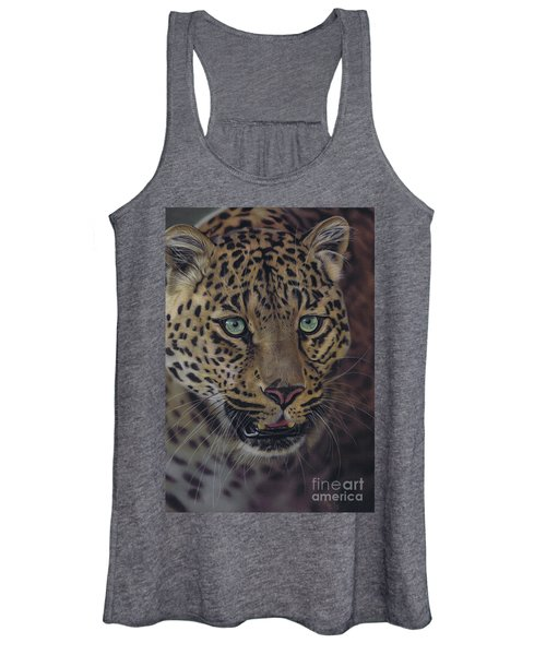 After Dark All Cats Are Leopards Women's Tank Top