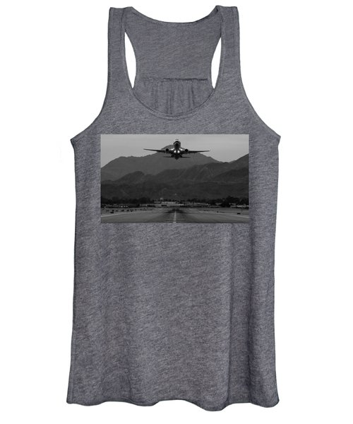 Alaska Airlines Palm Springs Takeoff Women's Tank Top
