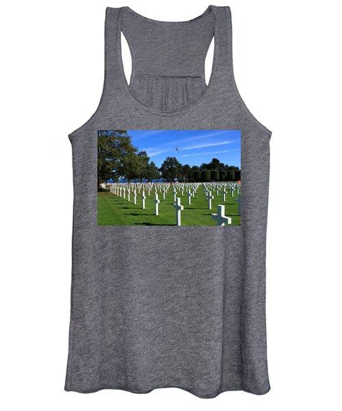 American Cemetery Normandy Women's Tank Top