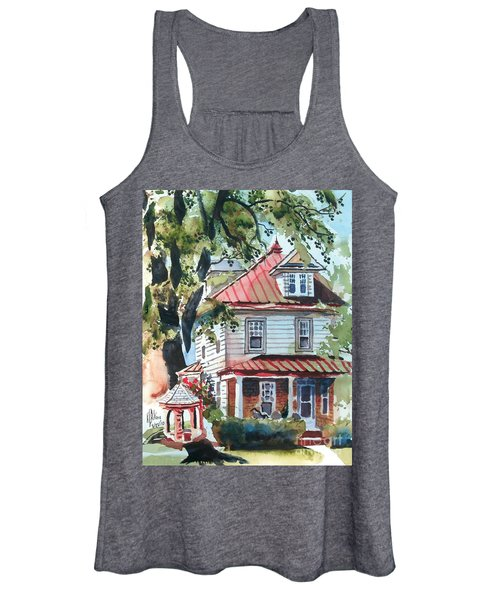 American Home With Children's Gazebo Women's Tank Top