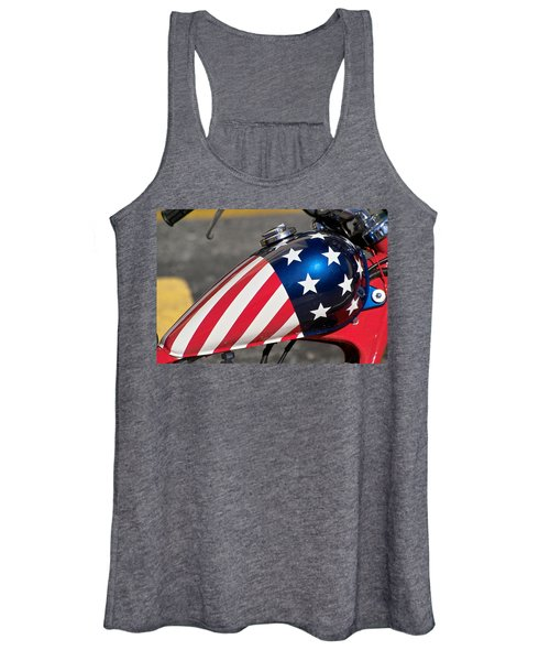 American Motorcycle Women's Tank Top