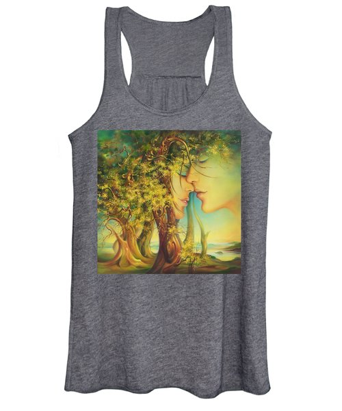 An Encounter At The Edge Of The Forest Women's Tank Top