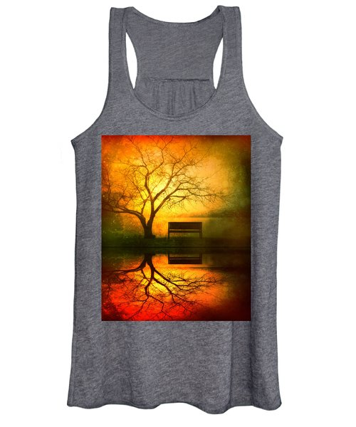 And I Will Wait For You Until The Sun Goes Down Women's Tank Top