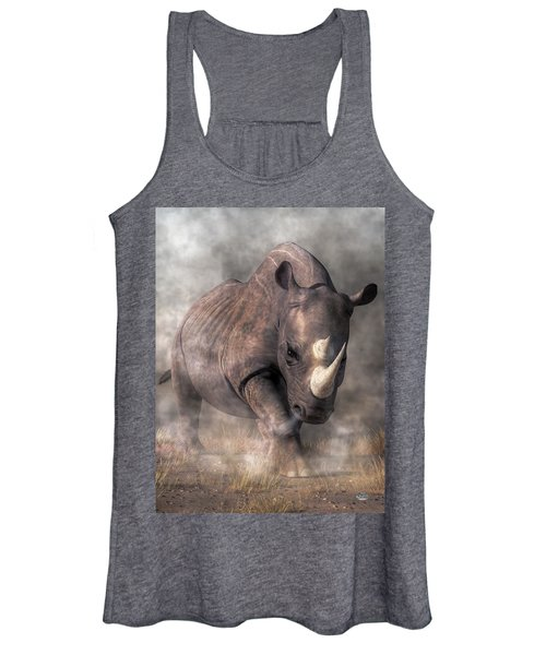 Angry Rhino Women's Tank Top
