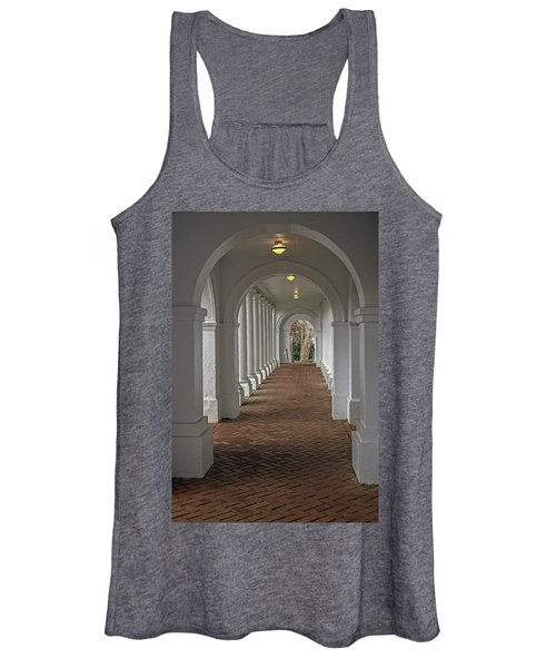 Arches At The Rotunda At University Of Va Women's Tank Top