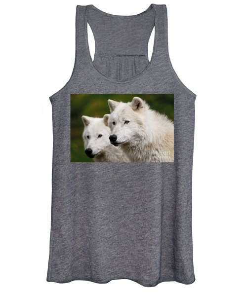 Arctic Wolf Picture 247 Women's Tank Top