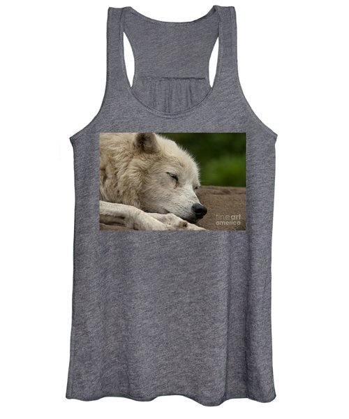 Arctic Wolf Pictures 155 Women's Tank Top