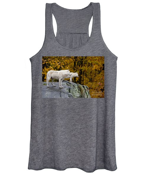 Arctic Wolf Pictures 930 Women's Tank Top