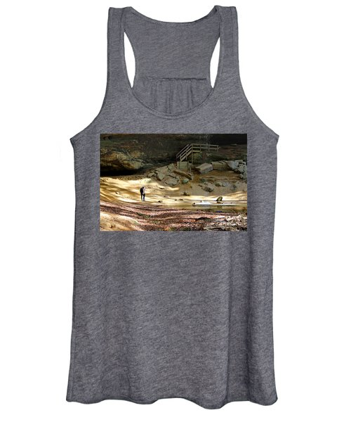Ash Cave In Hocking Hills Women's Tank Top