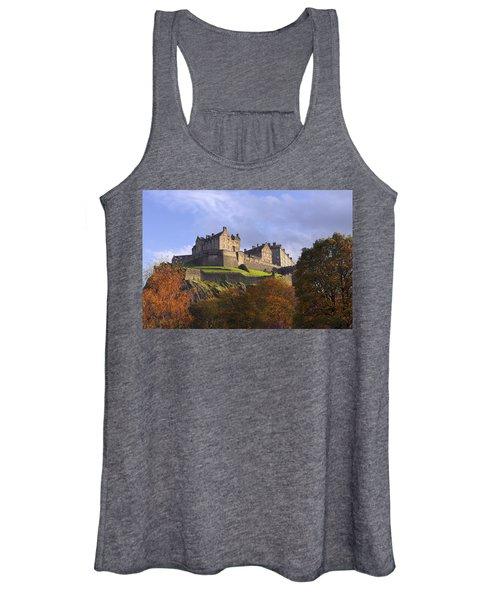 Autumn At Edinburgh Castle Women's Tank Top