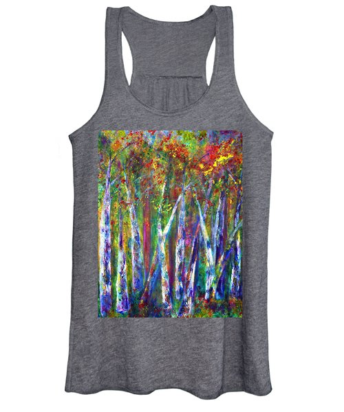 Autumn In Muskoka Women's Tank Top