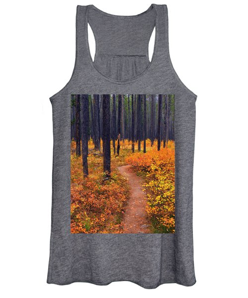 Autumn In Yellowstone Women's Tank Top