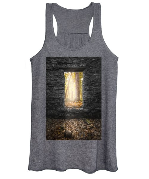 Autumn Within Long Pond Ironworks - Historical Ruins Women's Tank Top