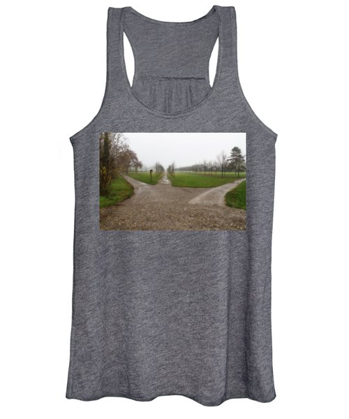 Autumnal Countryscape Women's Tank Top
