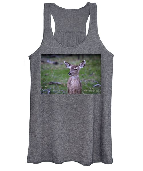 Baby Deer Women's Tank Top