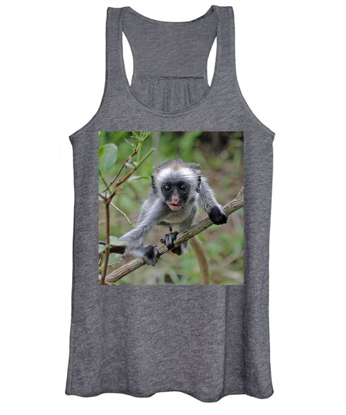 Baby Red Colobus Monkey Women's Tank Top
