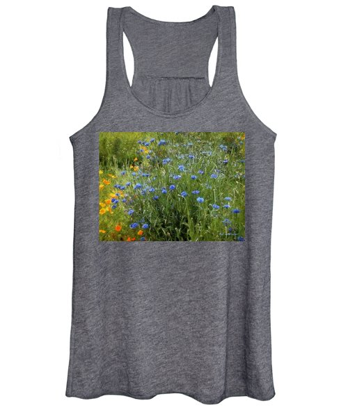 Bachelor's Meadow Women's Tank Top