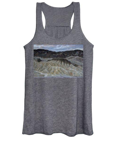 Badlands At Sunrise. Death Valley Women's Tank Top