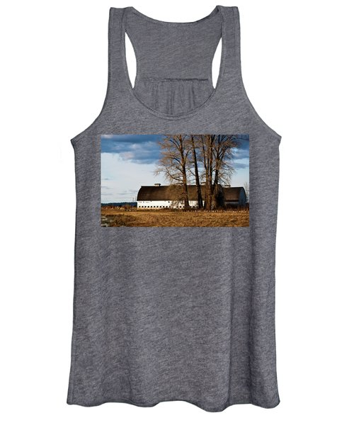 Barn And Trees Women's Tank Top