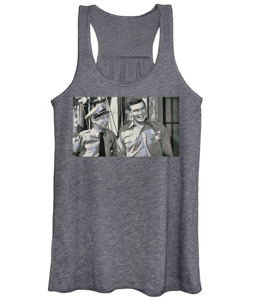 Barney Fife And Andy Taylor Women's Tank Top